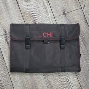 Mini CHI Tote with Hanger Brown